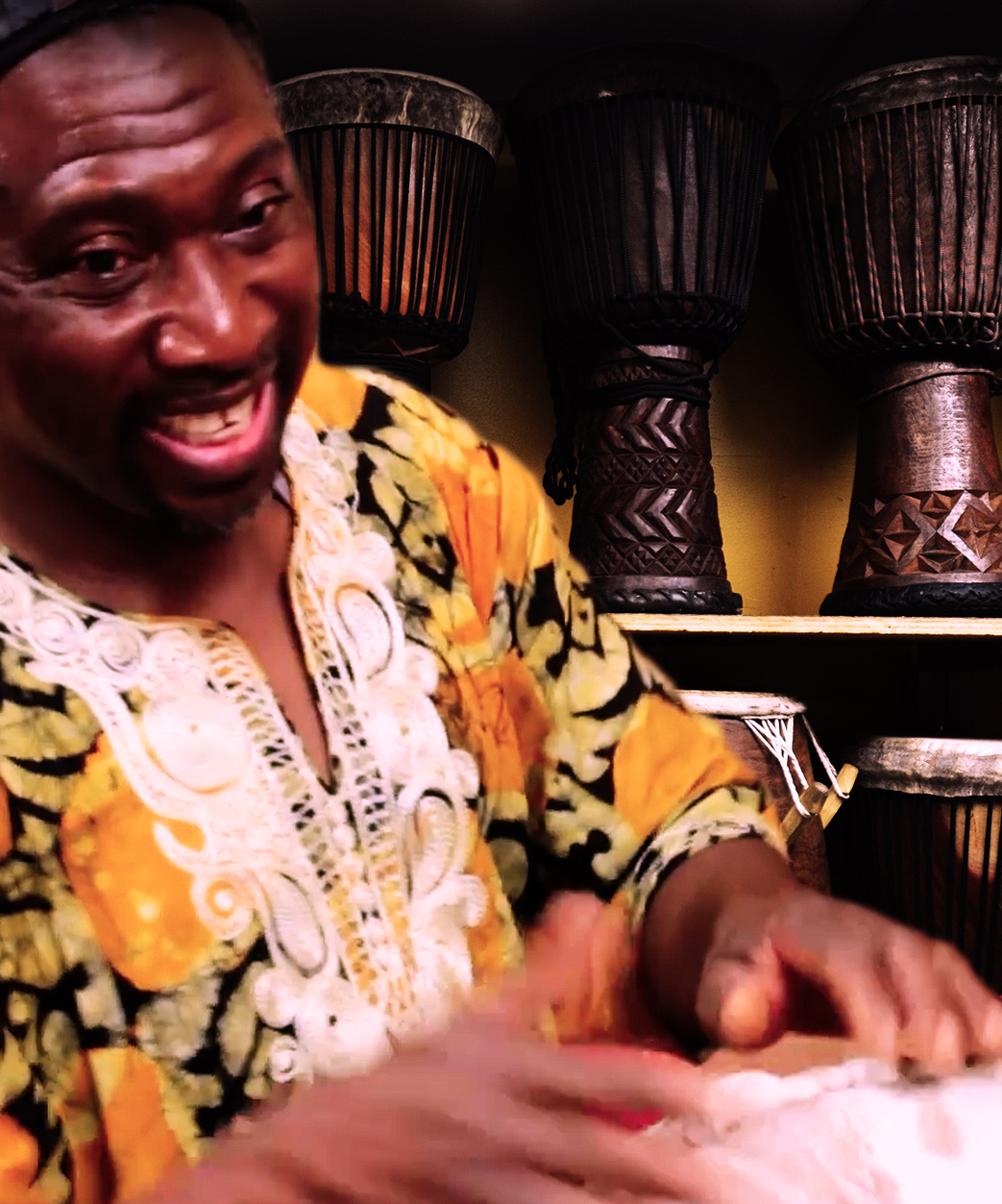 Sans Song Undertake Fortnite Dances In Real Life: African Drums & Art Crafts